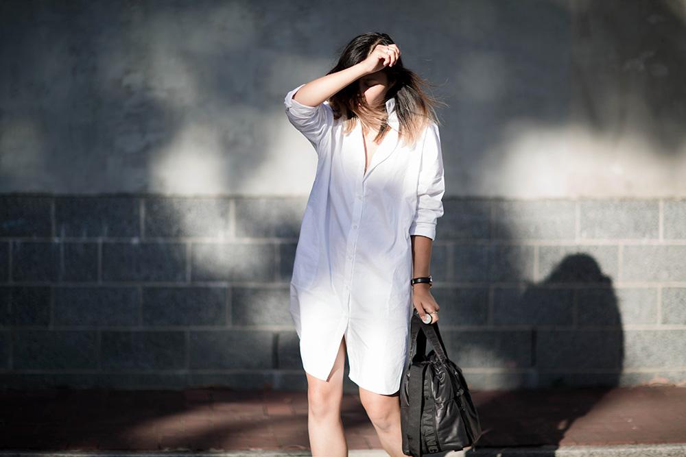 alexander-wang-hm-oversized-white-shirt-converse-blogger-streetstyle-3 copy