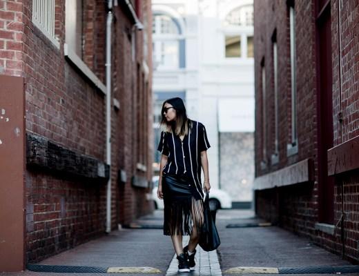 celine-cabas-tassel-skirt-sneakers