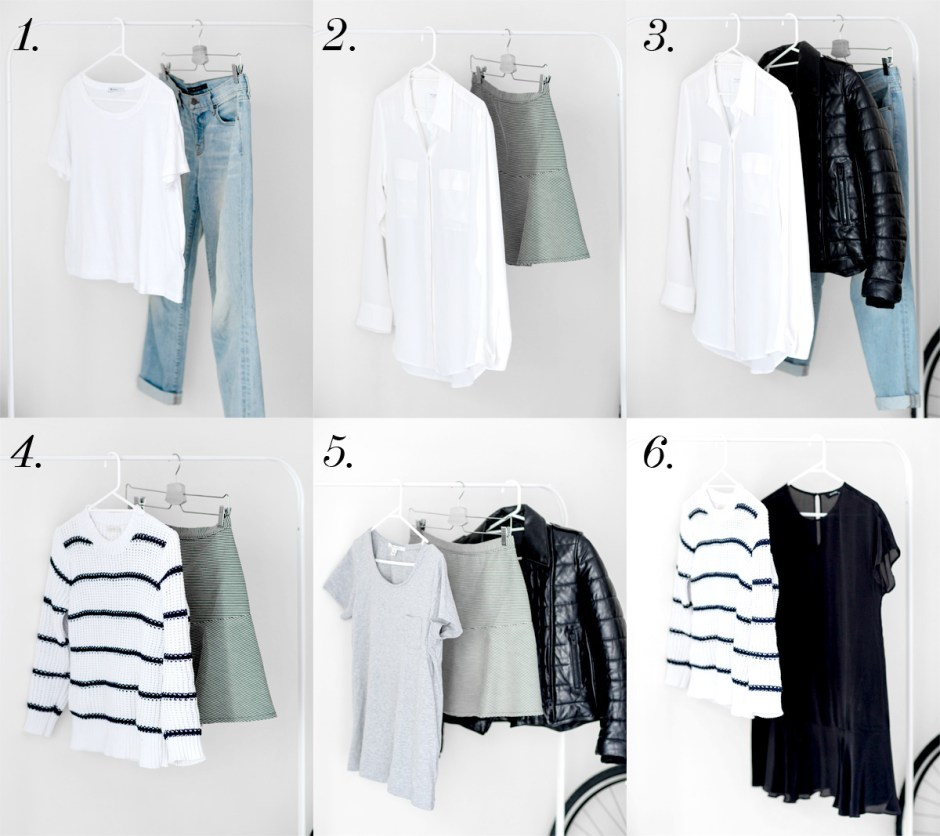 capsule wardrobe-outfits