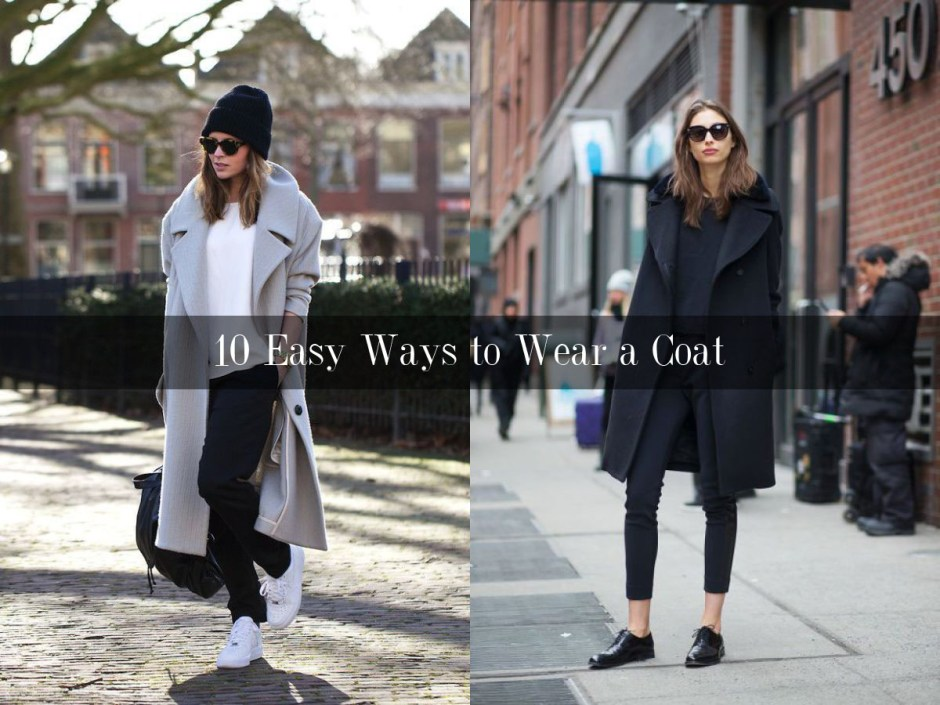 10 easy ways to wear a coat