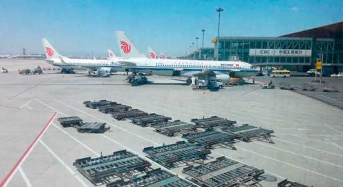 Beijing Capital Airport  PEK  Beijing Airport served 86 Million passengers in 2014