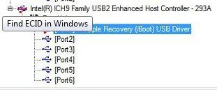 Save iPhone SHSH Blobs when Stuck in Recovery Mode Loop