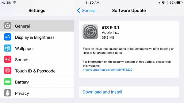 How to Fix iTunes Error 3194 when Updating to iOS 9 3 1