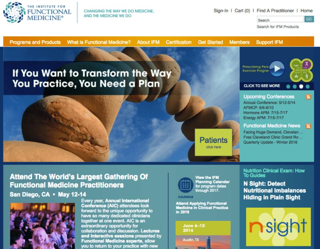 www.functionalmedicine.org