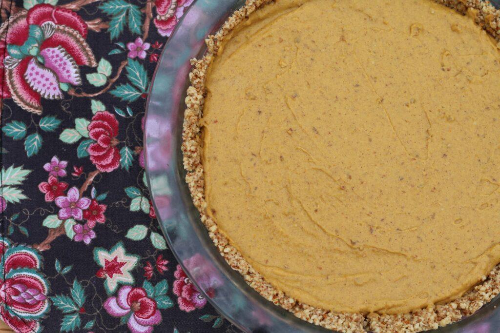 BeingBrigid Paleo Pumpkin Mousse with Almond Crust