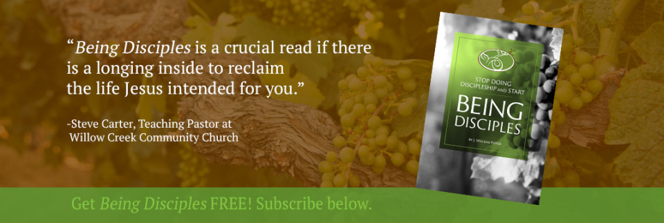 Endorsement by Steve Carter - Get Being Disciples Ebook Free After Subscribing
