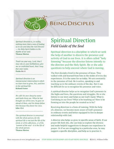 Click the image to download the Spiritual Direction Guide