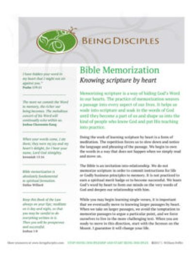 Click the image to download the Bible Memorization Guide