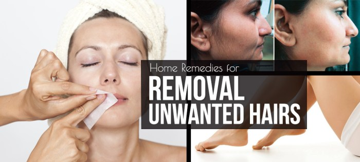 removal unwanted hair