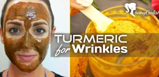turmeric face mask for wrinkles