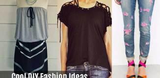 diy fashion clothing ideas