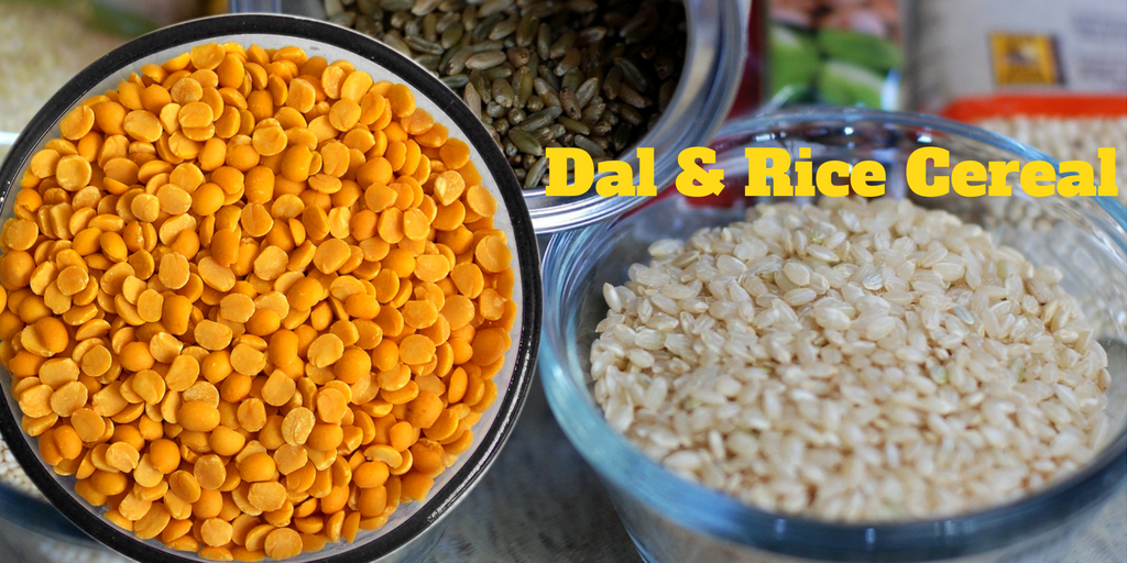 dal and rice cereal for babies