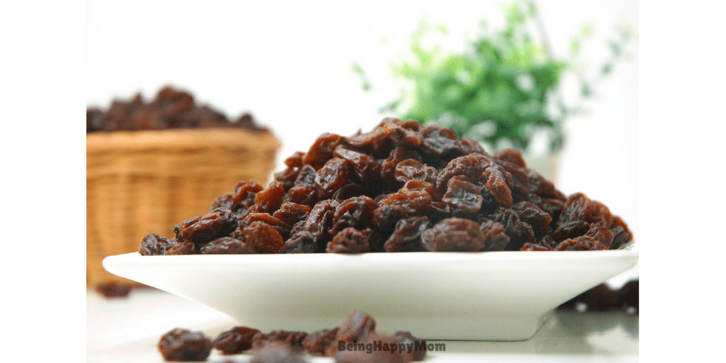 Raisins in Baby Constipation