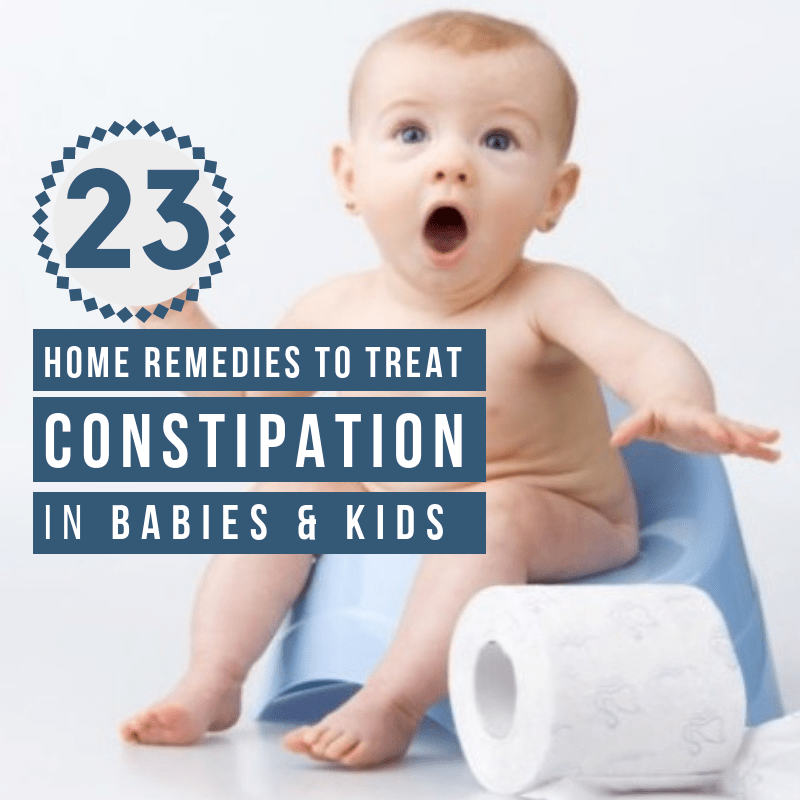 home remedies for Constipation in Babies
