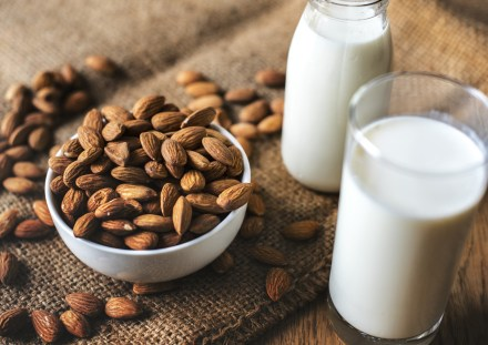 Almonds with Milk Facepack