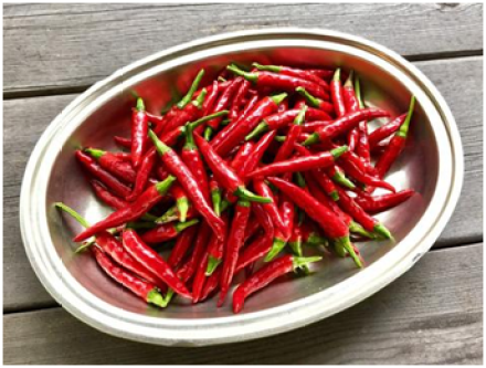 Cayenne Pepper as remedy for knee pain