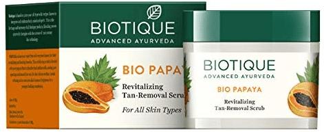 Biotique Bio Papaya Revitalizing Tan Removal Scrub
