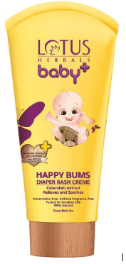 Lotus Herbals Baby+ Happy Bums Diaper Rash Cream