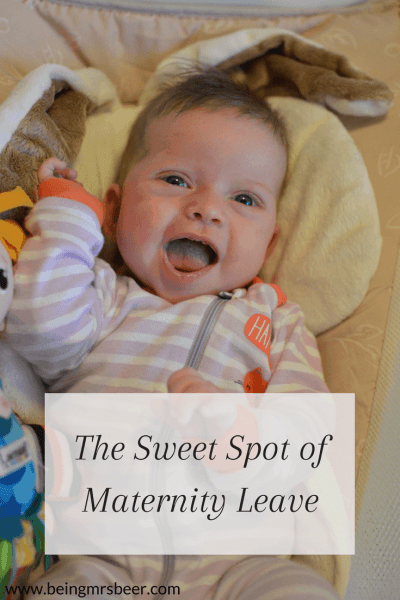 The Sweet Spot of Maternity Leave