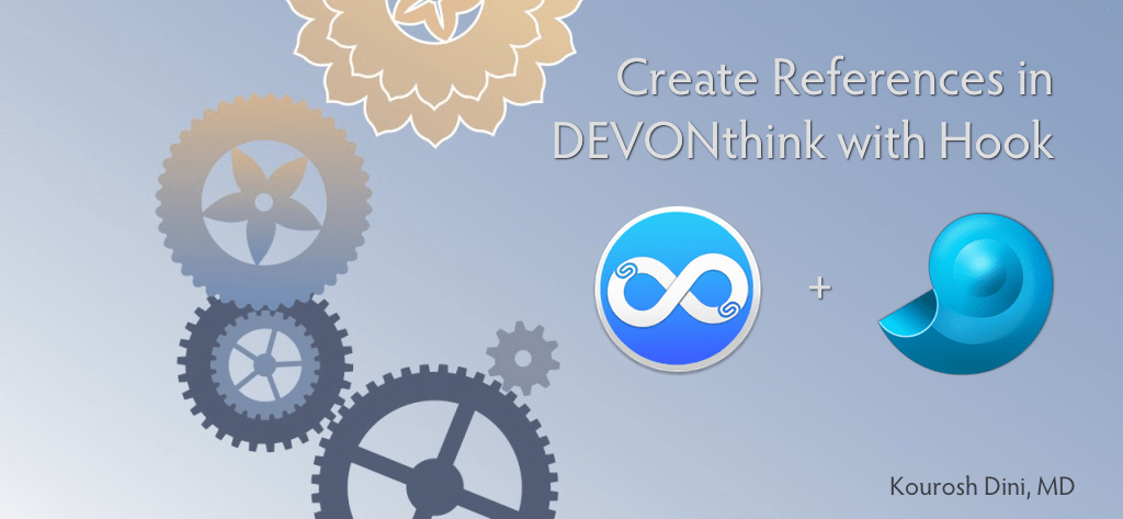Make Creating References Easy in DEVONthink with Hook
