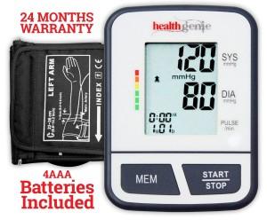 health genie talking blood pressure monitor