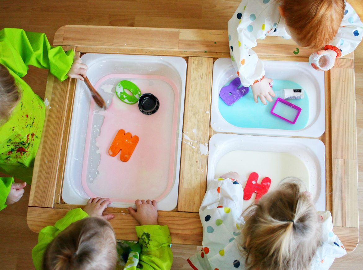 Easy Oobleck Sensory Bin Being This Mama