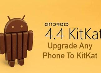 Upgrade Any Phone To KitKat