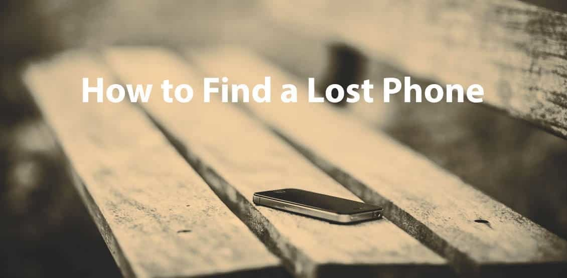 How to Find a Lost Phone