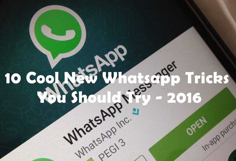 11 Cool New Whatsapp Tricks You Should Try