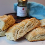 scones with vanilla