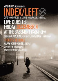ZIAD NAWFAL pres. INDEX/LEFT (Live Dubstep)