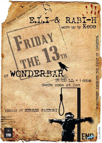 E.L.I & RABI-H @ Wonderbar