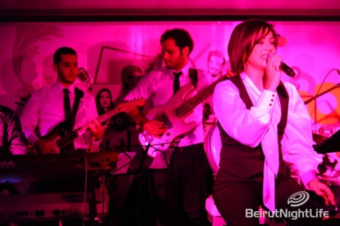 Guitta Harb eight 80s night beirut