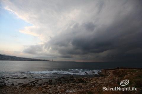 Winter lebanon beirut