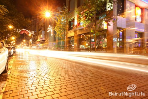 hamra street beirut lebanon nightlife