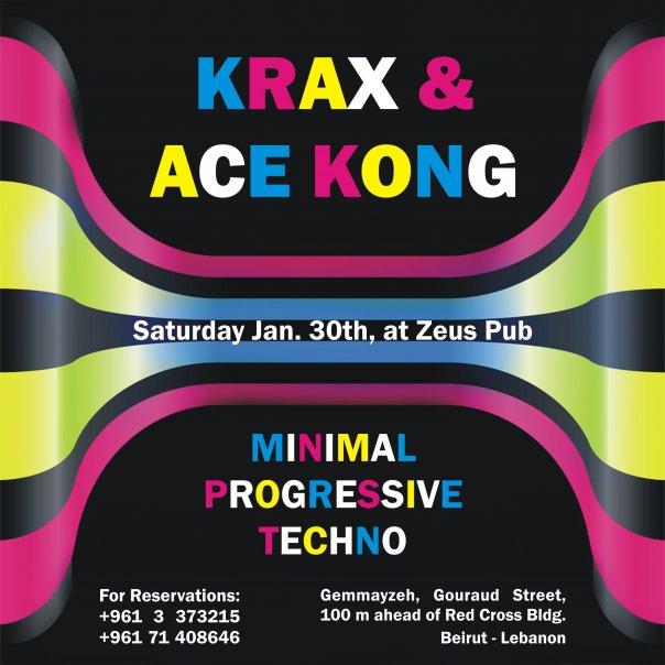 Krax & Ace Kong