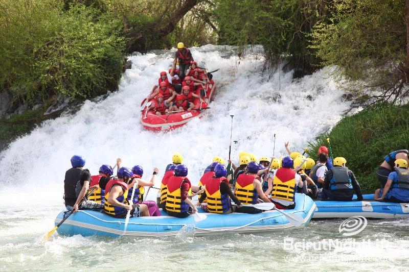 Rafting at Nahr El Assi- Lebanon
