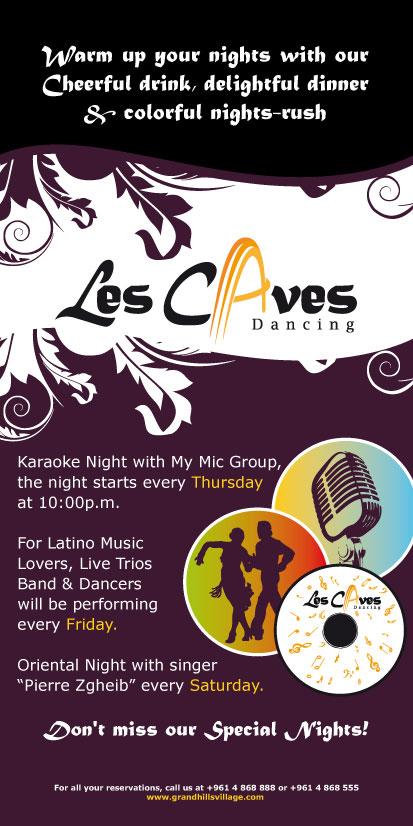 Karaoke Night at Les Caves Dancing