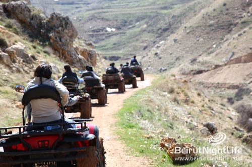 CRAZY ATV TRIP TO WADI ANNOUBIN