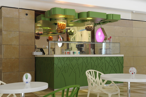 Nonfat Frozen Yogurt Hits Beirut Souks!