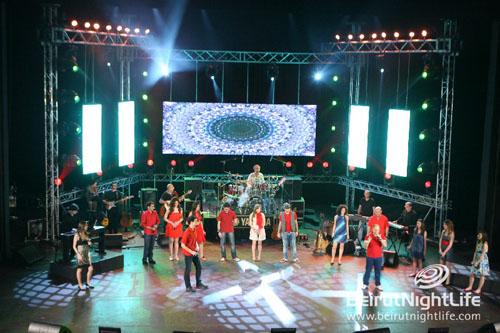 Heart Beat Grand Concert at Casino Du Liban