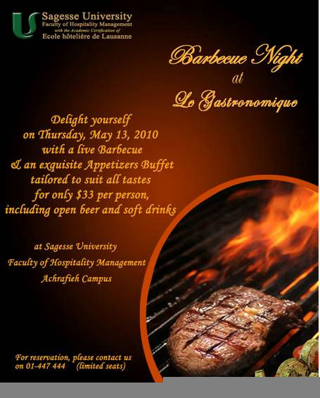 Barbecue Night at Le Gastronomique