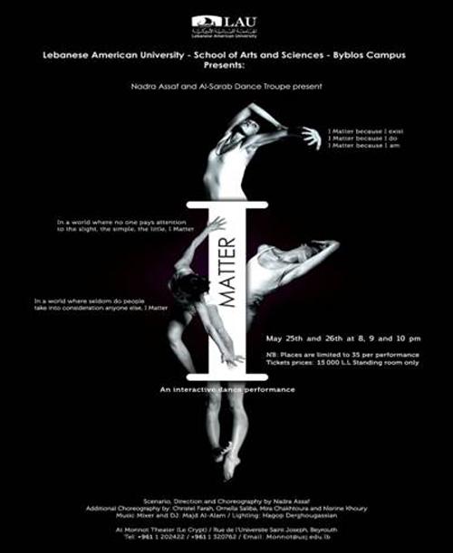 I Matter- An interactive dance performance