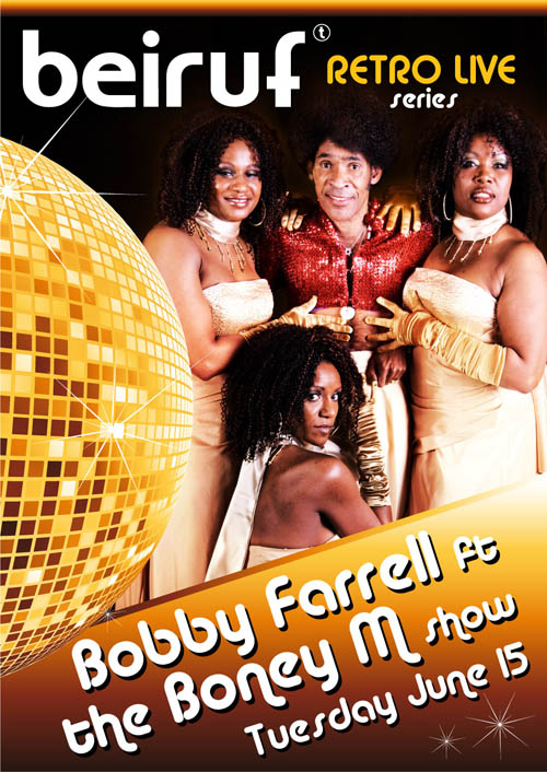 Bobby Farrell ft. The Boney M Show at BEIRUF