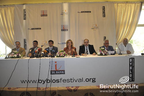Byblos International Festival 2010 Press Conference