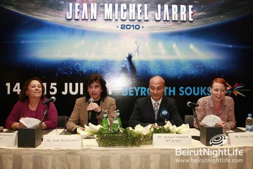 Jean Michel Jarre Press Conference