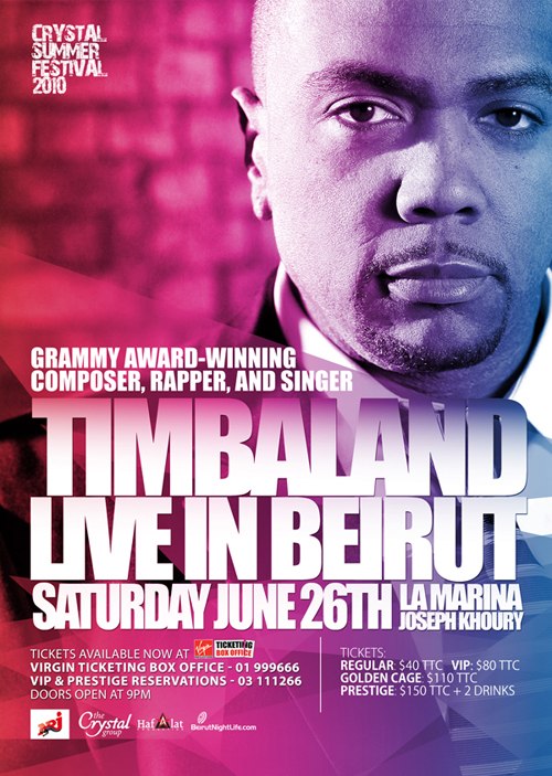 Ready for a Shock Value!!? Get your free Ticket to Timbaland Concert