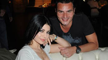 Yahya Saade shoots Haifa her clip with David Vendetta