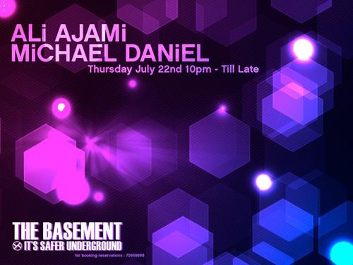 Ali Ajami & Michael Daniel at The Basement
