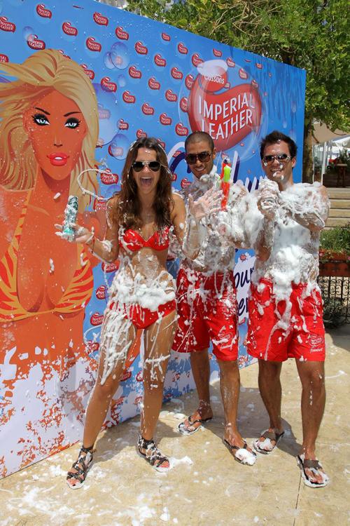 FOAMBURST IMPERIAL LEATHER Foams up Riviera Beach Resort
